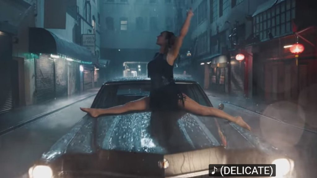 Rain + Car = Taylor Swift