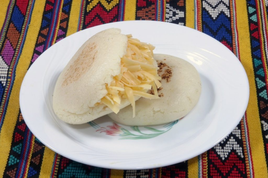 Arepas, Colombia