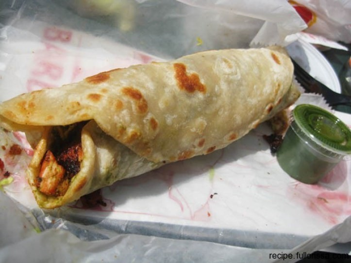Paratha roll, Pakistan