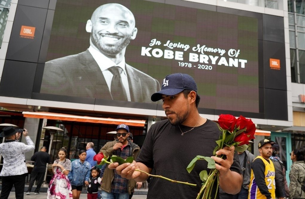 Image result for in memory of kobe bryant