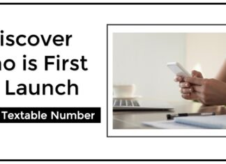Discover who is first to launch 10 digits textable number