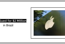 Apple Sued for $2 Million in Brazil